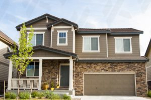 brown-residential-2-story-home-exterior-painting-in-spokane